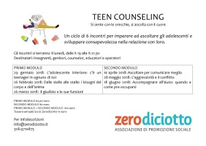 volantino Teen Counseling