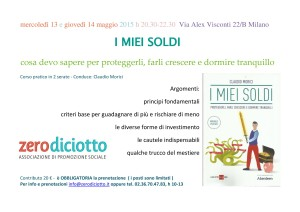 workshop I miei soldi
